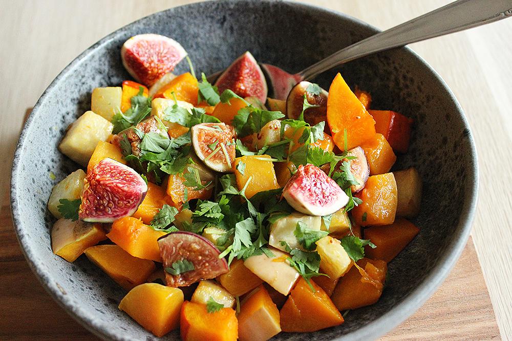Hokkaido Butternut Salat