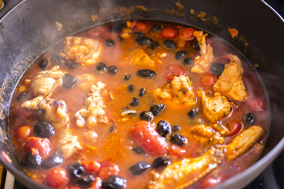 Kylling & Oliven