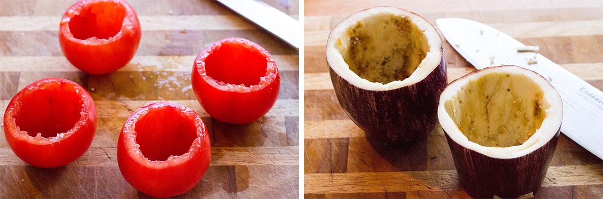 Tomater & auberginer