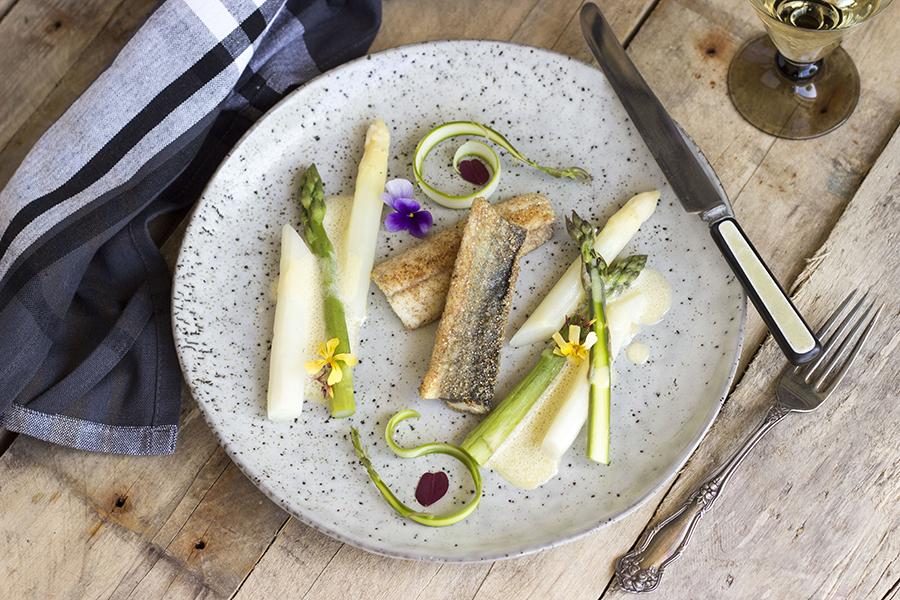 Hornfisk og Asparges