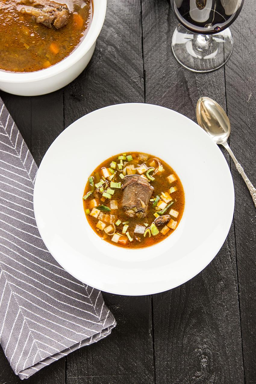 Okse Hale Suppe