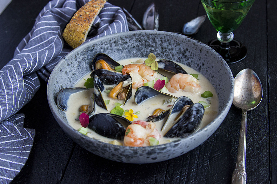 Chowder mussels