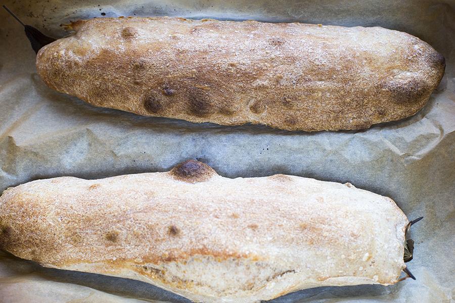 Bagt brød