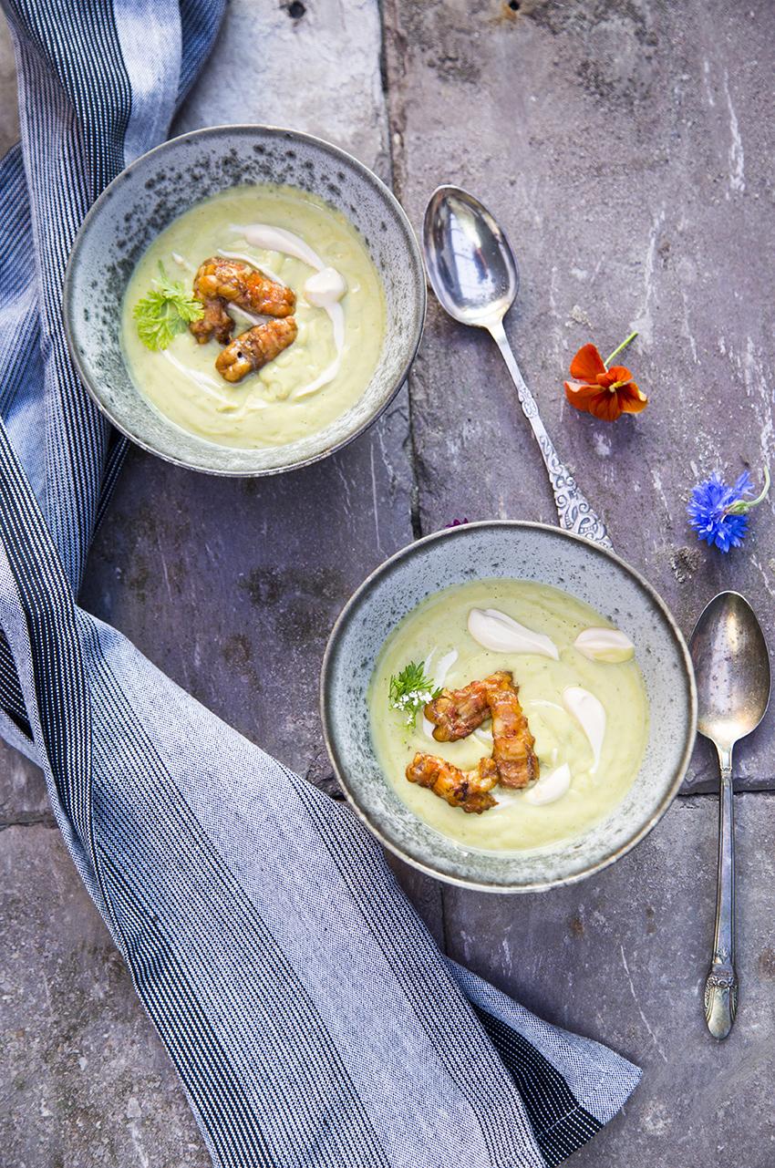 Avocado suppe
